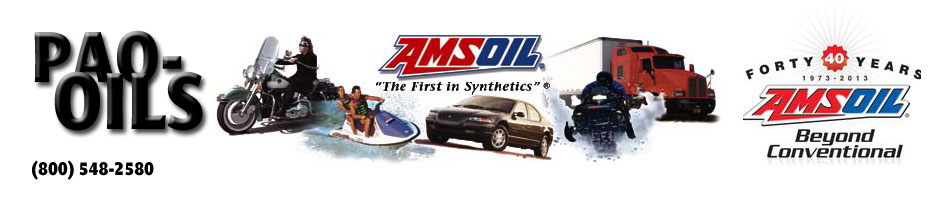 Pao Oils Independent Amsoil Dealer